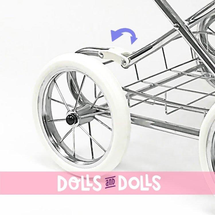 Cochecito Arrue 90 cm para muñecas - Princess Jr - Arena