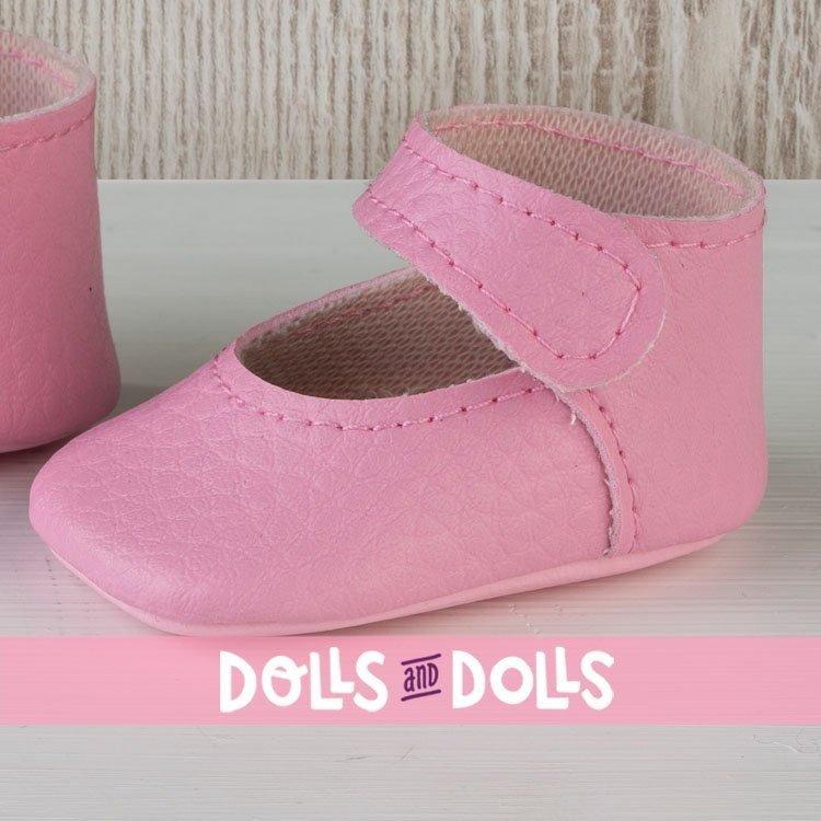 Complementos muñecas Así 36 a 40 cm - Peúcos merceditas rosas para muñecos Guille, Koke y Nelly