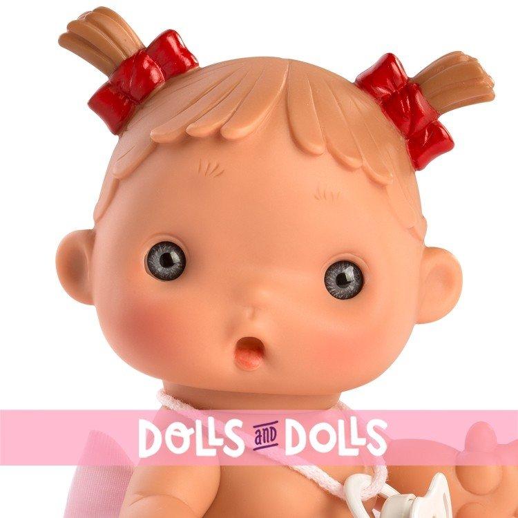 Muñeca Así 23 cm - Daniela con falda de tul rosa