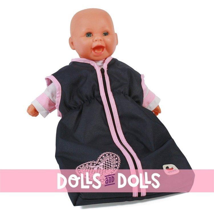 Saco de dormir para muñecas de hasta 55 cm - Bayer Chic 2000 - Marino