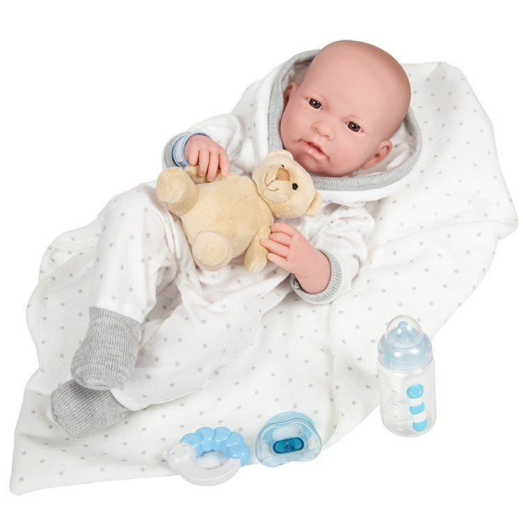 Muñeco Berenguer Boutique 43 cm - La newborn 18110 (chico)