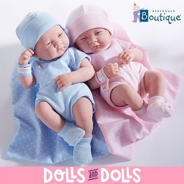 Muñeca Berenguer Boutique 36 cm - La newborn 18541 (chica)