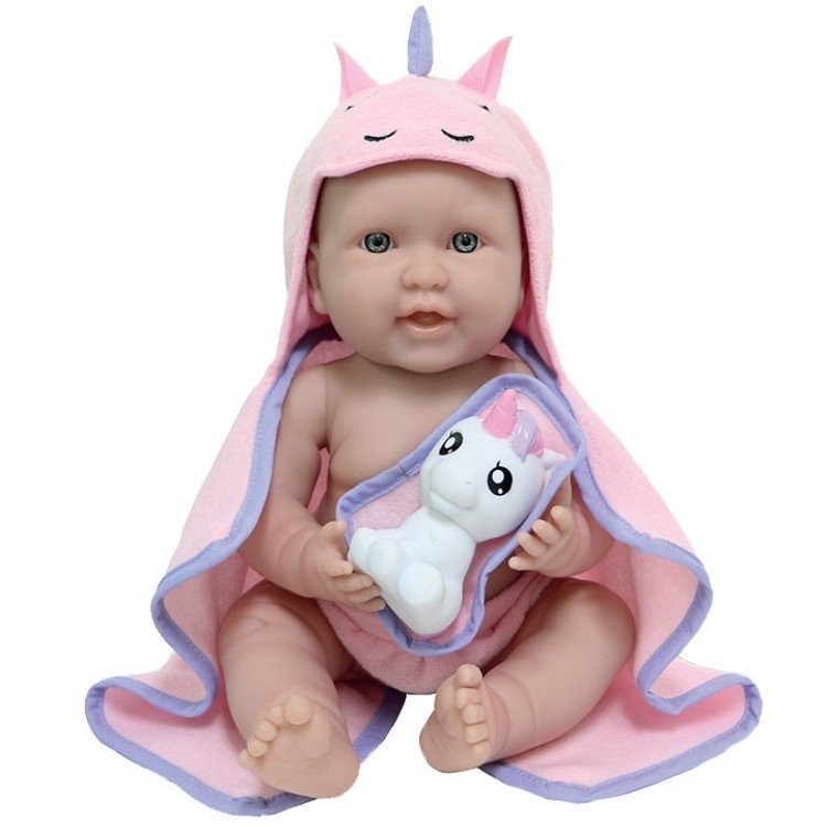 Muñeca Berenguer Boutique 43 cm - La newborn Moments - Unicornio