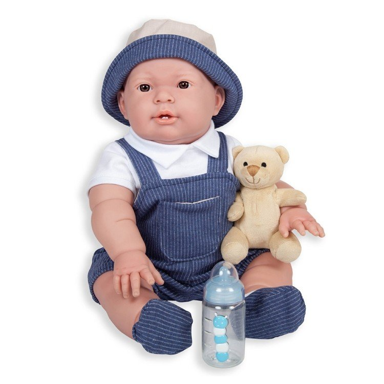 Muñeco Berenguer Boutique 46 cm - Lucas sombrero (chico)