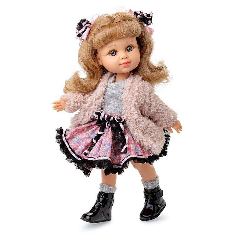 Muñeca Berjuán 35 cm - Boutique dolls - My Girl rubia con abrigo