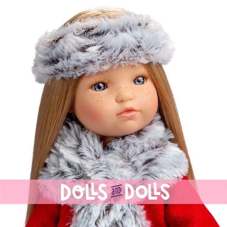 Muñeca Berjuán 35 cm - Boutique dolls - Fashion Girl rubia pelo largo