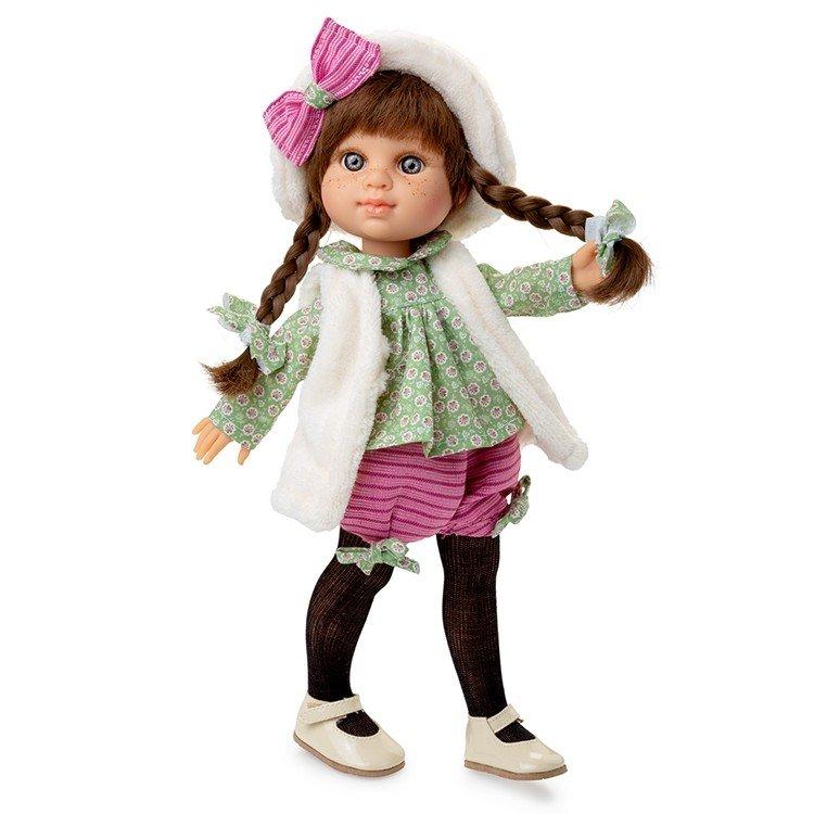 Muñeca Berjuán 35 cm - Boutique dolls - My Girl trenzas con chaleco