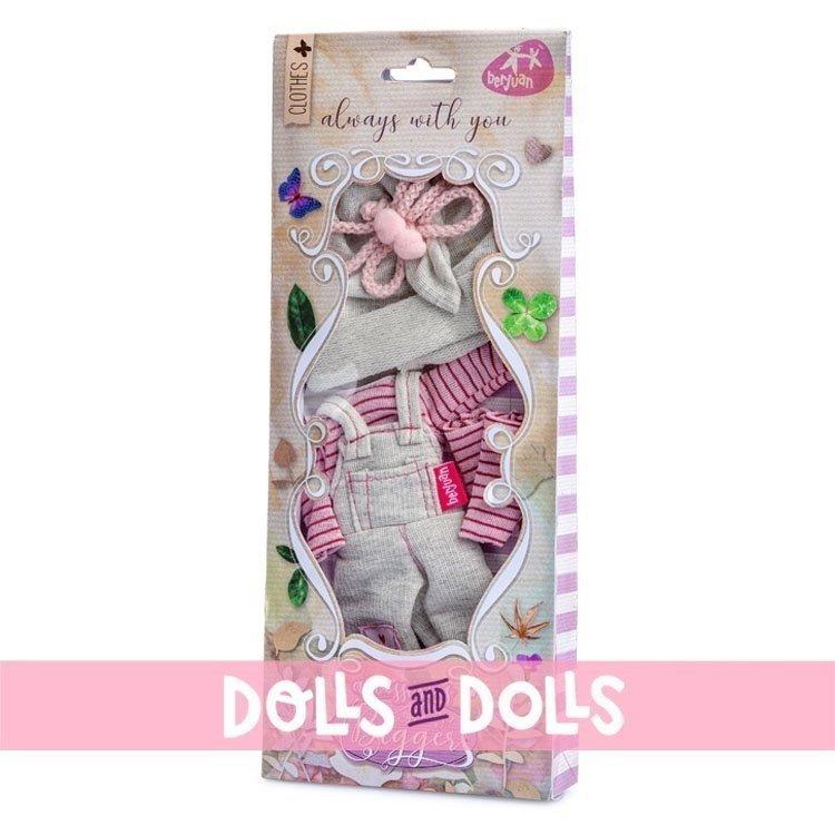 Ropa para muñecas Berjuán 32 cm - The Biggers - Vestido Jollie Bonnaire