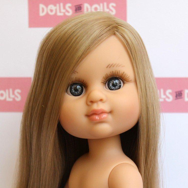 Muñeca Berjuán 35 cm - Boutique dolls - My Girl rubia con pelo extra largo sin ropa