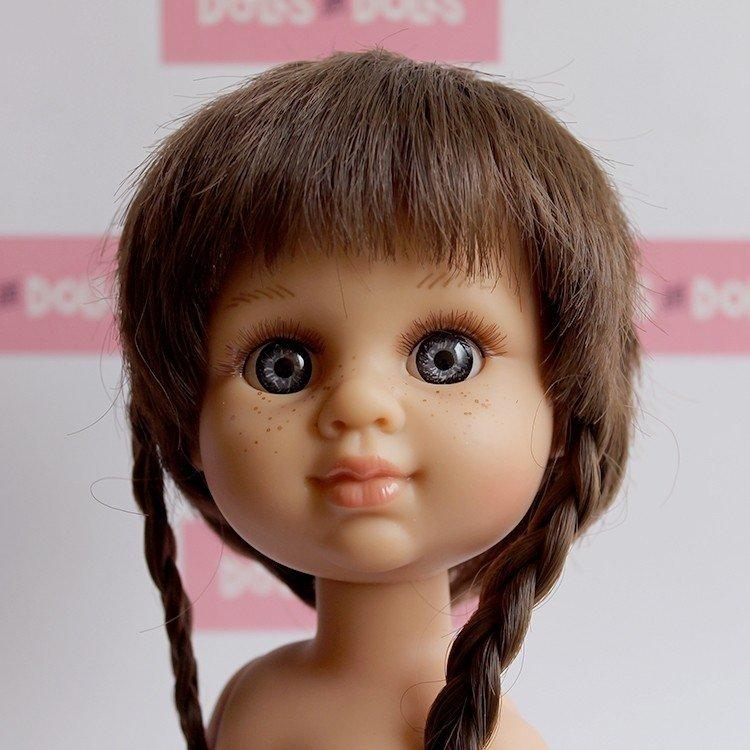 Muñeca Berjuán 35 cm - Boutique dolls - My Girl trenzas sin ropa