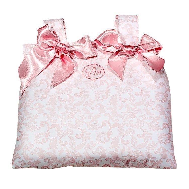 Complementos muñecas Así - Bolso para el coche de cachemir rectangular rosa