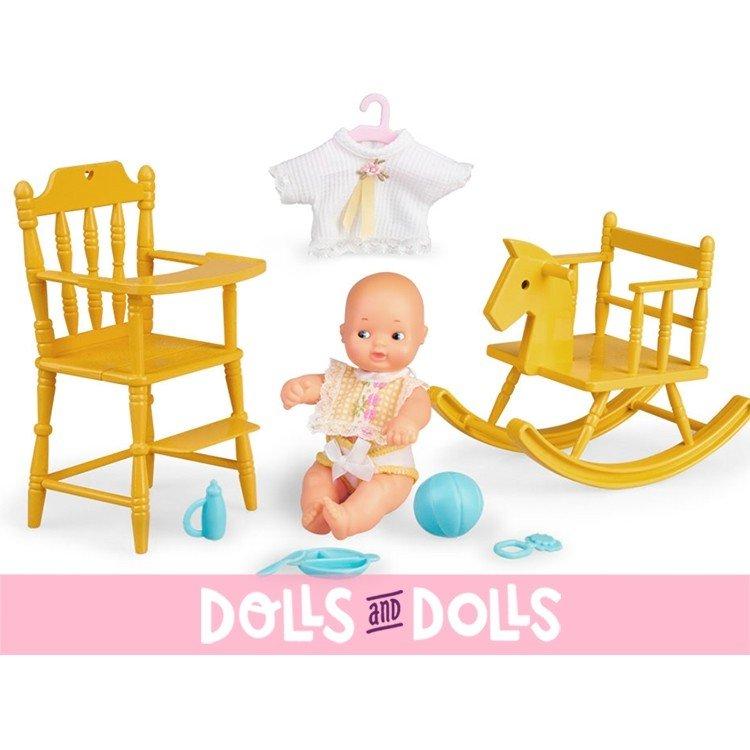 Muñecas Barriguitas de Siempre 15 cm - Set Primeros Accesorios