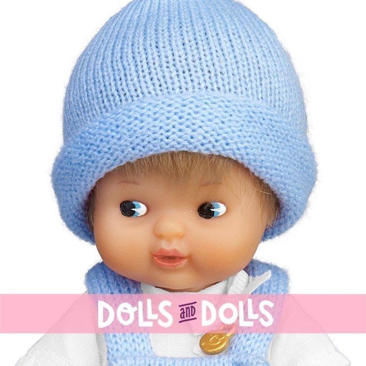 Muñeca Barriguitas Clásica 15 cm - Bebé niño rubio con pelele