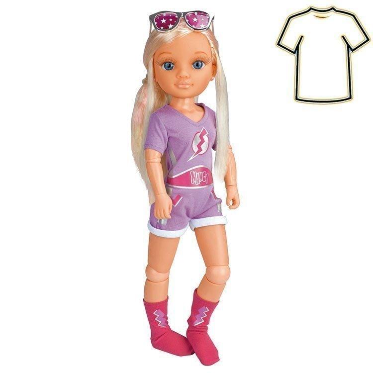Ropa para muñeca Nancy 43 cm - Un día de disfraces - Conjunto Super Hero