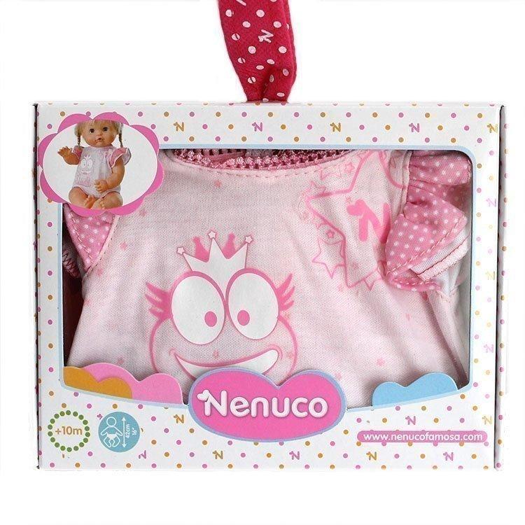 Ropa para muñecos Nenuco 42 cm - Ropita básica - Camiseta rosa