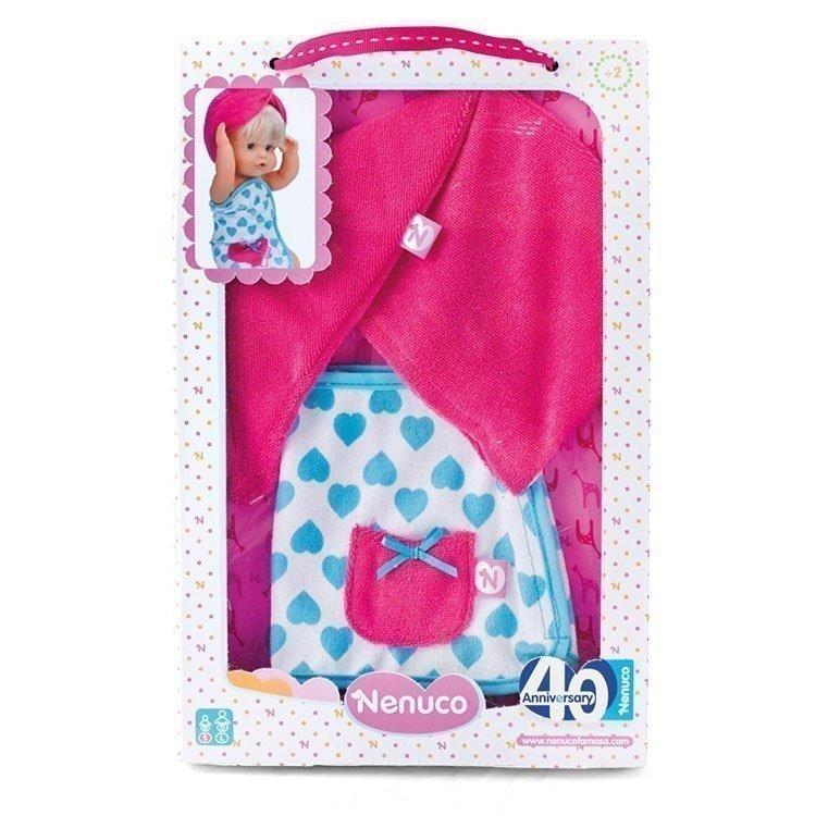 Ropa para muñeco Nenuco 35 cm - Set de baño