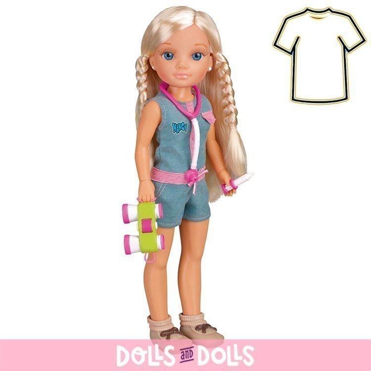 Ropa para muñeca Nancy 43 cm - Un día de aventuras - Conjunto exploradora