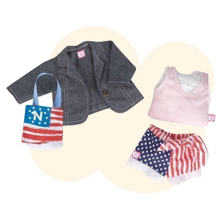 Ropa para muñeco Nenuco 42 cm - Ropita deluxe - Nueva York