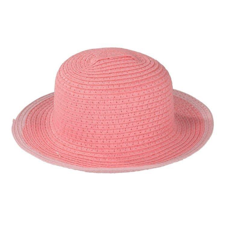 Complementos para muñeca Götz 42-50 cm - Sombrero de paja rosa