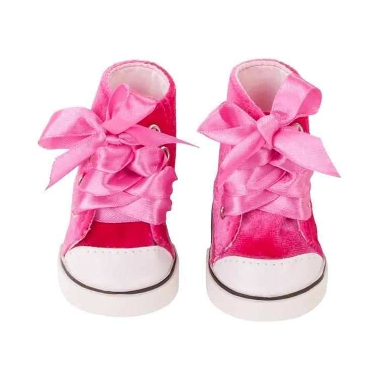 Complementos para muñeca Götz 42-50 cm - Zapatillas de terciopelo rosa