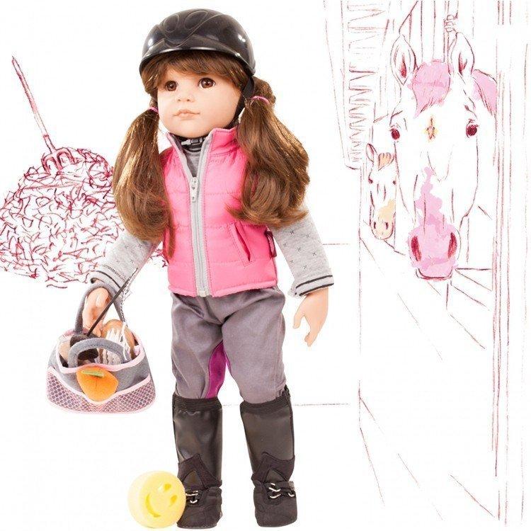 Muñeca Götz 50 cm - Hannah loves Horseback riding