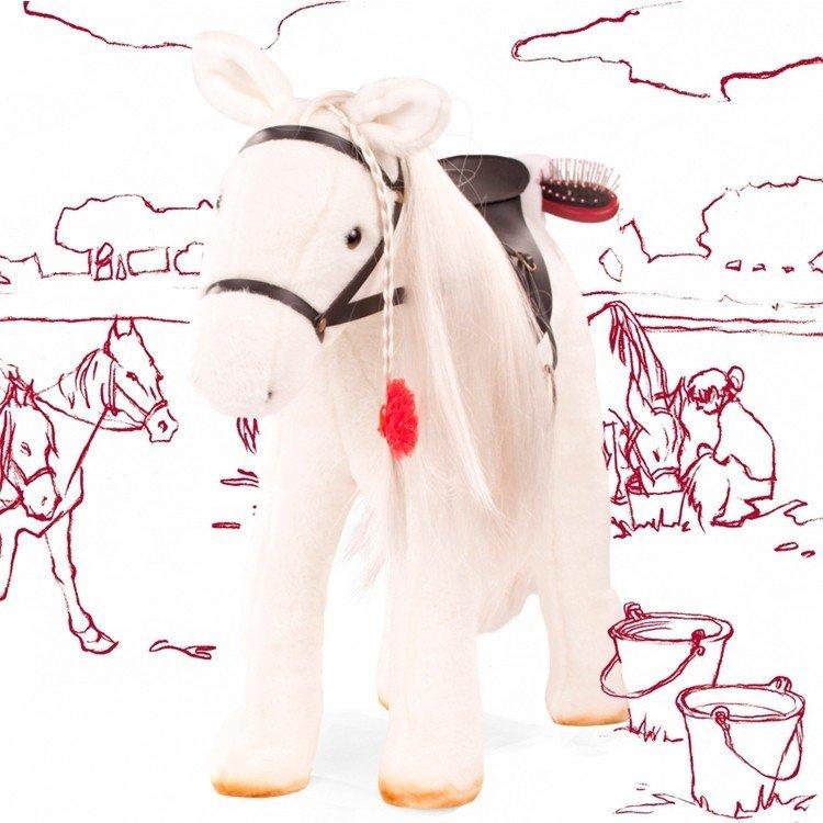 Caballo blanco para muñeca Hannah de 50 cm de Götz