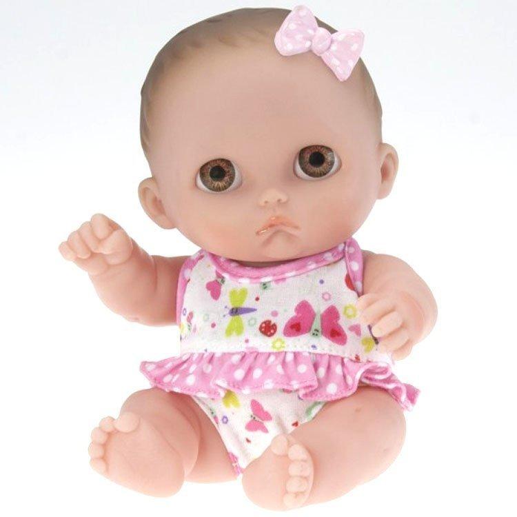 Muñeca Designed by Berenguer 21 cm - Lil' Cutesies - Mimi con lazo rosa