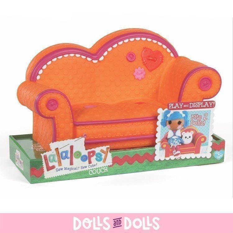 Accesorios para muñecas Lalaloopsy 31 cm - Sofá naranja
