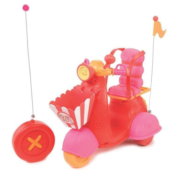 Accesorios para muñecas Lalaloopsy 31 cm - Moto roja con control remoto