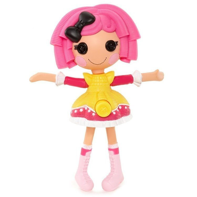 Muñeca Lalaloopsy 12 cm - Mini Lalaloopsy Silly Singers - Crumbs Sugar Cookie