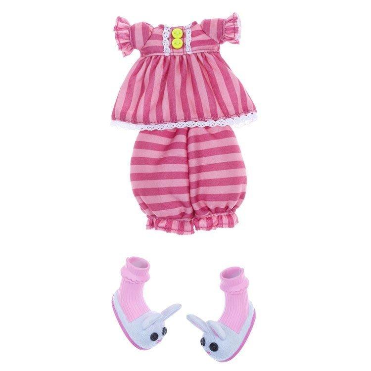 Ropa para muñecas Lalaloopsy 31 cm - Pijama rosa rayas