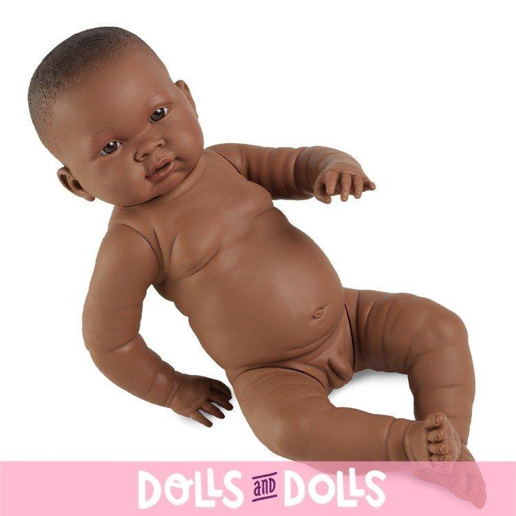 Muñeco Llorens 45 cm - Nene negrito sin ropa