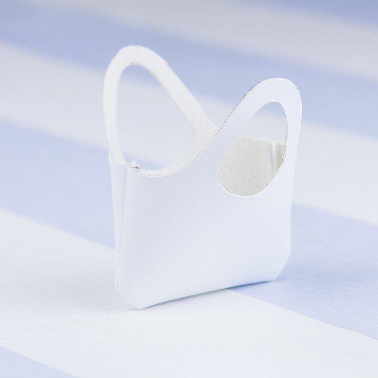 Complementos para muñecas Mariquita Pérez 50 cm - Bolso blanco