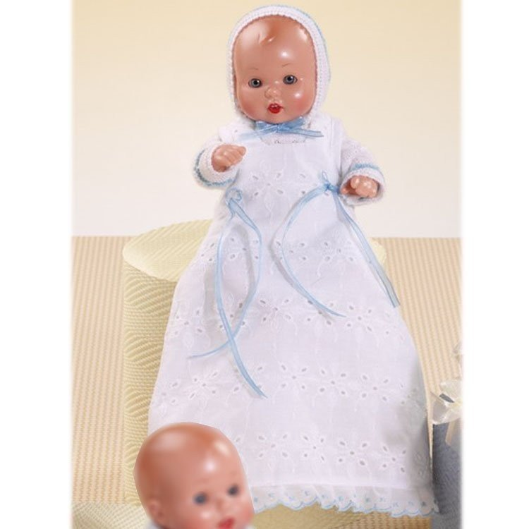 Muñeco Mini Juanín Bebé 20 cm - Con faldón blanco