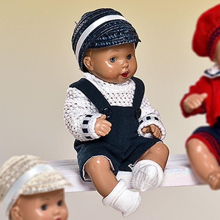 Muñeco Mini Juanín Bebé 20 cm - Con pichi marino