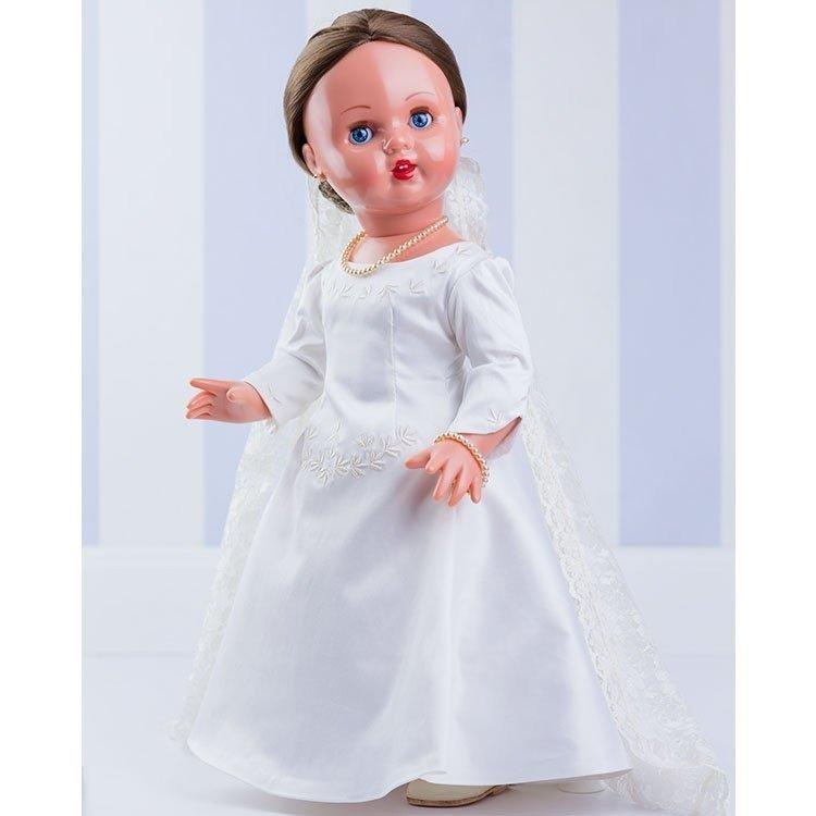 Muñeca Mariquita Pérez 50 cm - Serie Especial Boda (vestida de novia)