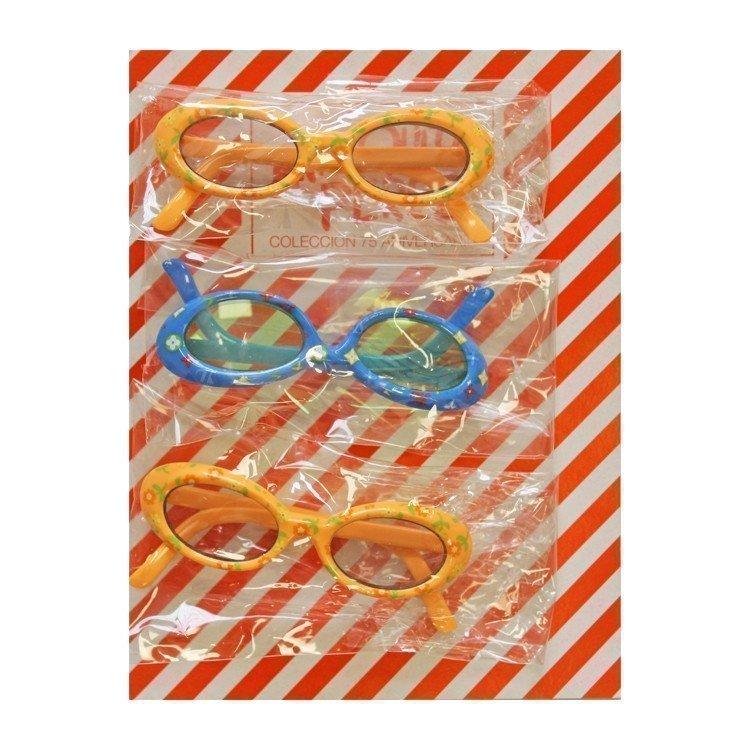 Complementos para muñecas Mariquita Pérez 50 cm - Set de gafas