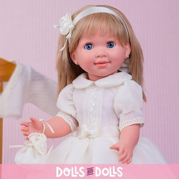 Muñeca Miel de Abeja 45 cm - Carolina comunión organdí beige