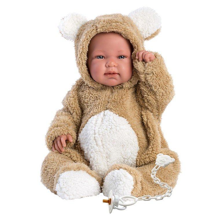 Muñeco Llorens 44 cm - Bebo llorón osito