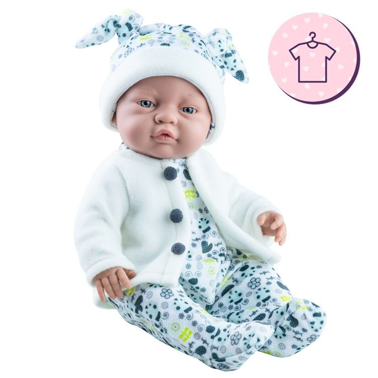 Ropa para muñecas Paola Reina 45 cm - Bebitos - Conjunto estampado