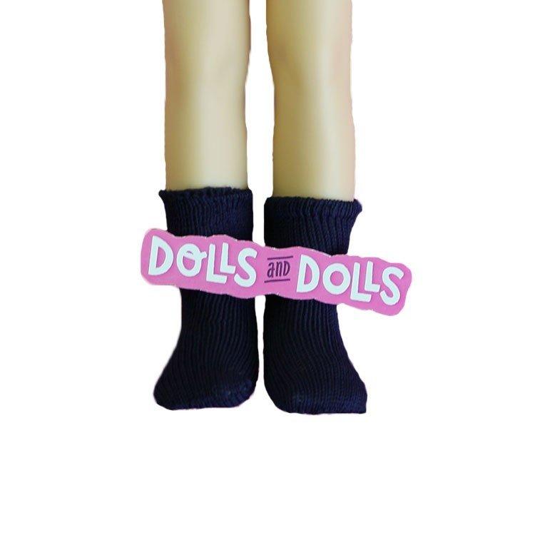 Complementos para muñecas Paola Reina 32 cm - Las Amigas - Calcetines azul marino
