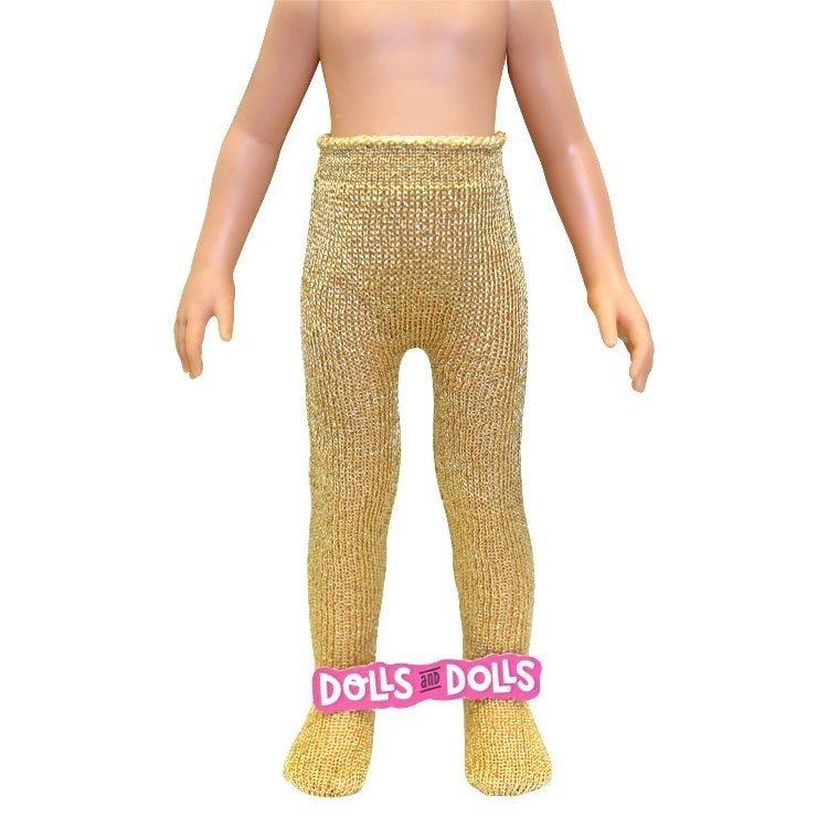 Complementos para muñecas Paola Reina 32 cm - Las Amigas - Medias doradas