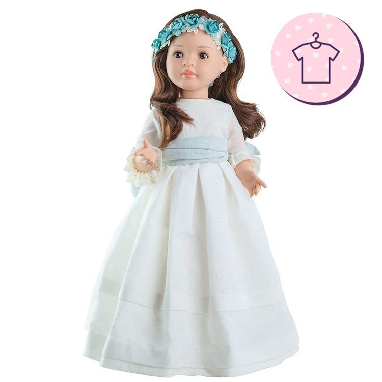Ropa para muñecas Paola Reina 60 cm - Las Reinas - Vestido Lidia Comunión