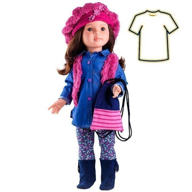 Ropa para muñecas Paola Reina 60 cm - Las Reinas - Vestido Lidia