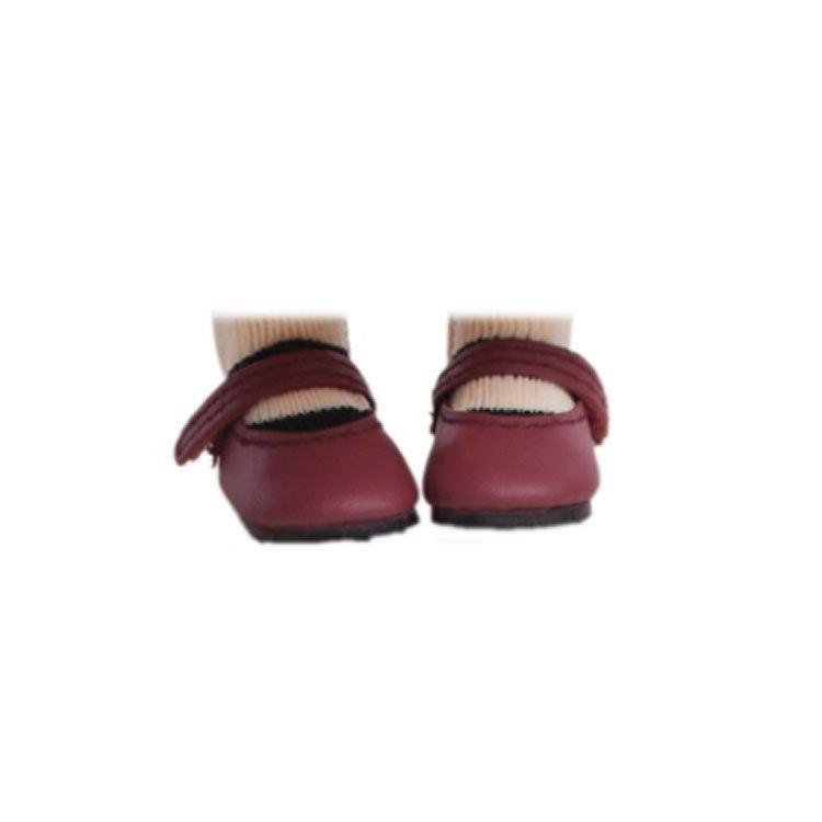 Complementos para muñecas Paola Reina 32 cm - Las Amigas y Gorjuss - Zapatos granate
