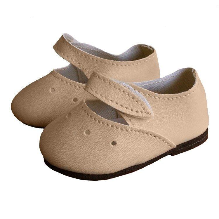 Complementos para muñecas Paola Reina 60 cm - Las Reinas - Zapatos beige