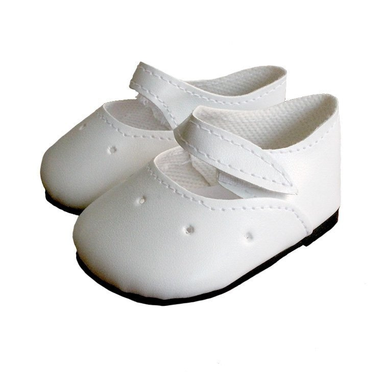 Complementos para muñecas Paola Reina 60 cm - Las Reinas - Zapatos blancos