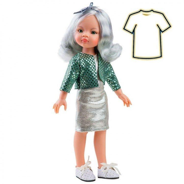 Ropa para muñecas Paola Reina 32 cm - Las Amigas - Vestido Manica estrellas