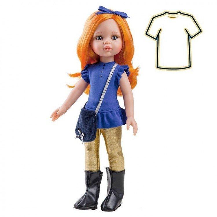 Ropa para muñecas Paola Reina 32 cm - Las Amigas - Vestido Carina con diadema