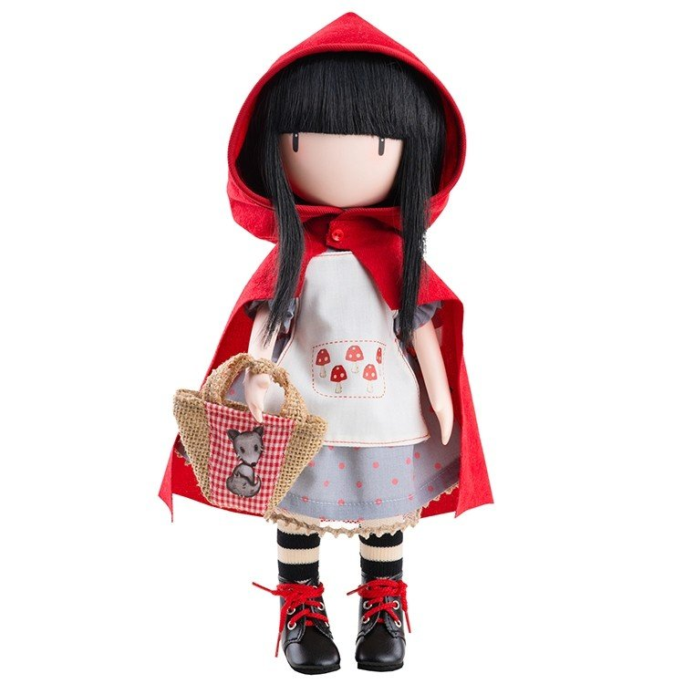 Muñeca Paola Reina 32 cm - Gorjuss de Santoro - Little Red Riding Hood